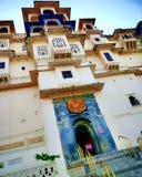 Palacio de la ciudad de Udaipur, Rajasthán, la India imagenes de archivo