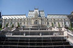 Palacio de la cultura en Iasi (Rumania) Foto de archivo libre de regalías
