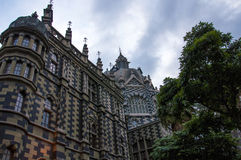 Palacio de la cultura en medellin, Colombia foto de archivo