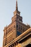 Palacio de la cultura en Varsovia 1 foto de archivo