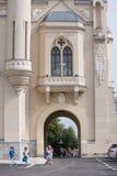 Palacio de la cultura, Iasi, Rumania Fotos de archivo