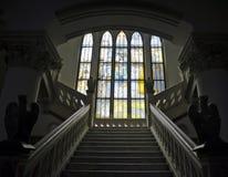 Palacio de la cultura - interior imagenes de archivo