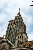 Palacio de la cultura y de la ciencia - Varsovia Fotos de archivo