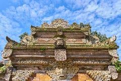 Palacio de la familia real de Ubud, isla de Bali Fotos de archivo libres de regalías