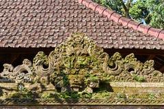 Palacio de la familia real de Ubud, isla de Bali Imagen de archivo