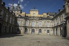 Palacio de la Granja de San Ildefonso i Madrid, Spanien Beautifu Royaltyfri Fotografi