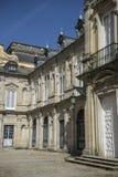 Palacio de la Granja de San Ildefonso i Madrid, Spanien Beautifu Arkivfoto