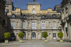 Palacio de la Granja de San Ildefonso in Madrid, Spain. beautifu Royalty Free Stock Image
