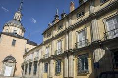 Palacio de la Granja de San Ildefonso in Madrid, Spain. beautifu Royalty Free Stock Images