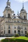 Palacio de la Granja de San Ildefonso in Madrid, Spain. beautifu Royalty Free Stock Photography