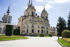 Palacio de la Granja de San Ildefonso in Madrid, Spain. beautifu Stock Photos