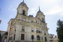 Palacio de la Granja de San Ildefonso in Madrid, Spain. beautifu Royalty Free Stock Photos
