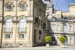 Palacio De-La Granja de San Ildefonso in Madrid, Spanien Beautifu Lizenzfreie Stockbilder