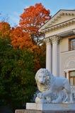 Palacio de la isla de Elagin Imagen de archivo libre de regalías