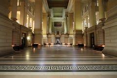Palacio de la justicia, Bruselas Foto de archivo