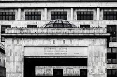 Palacio de la justicia de Colombia Foto de archivo libre de regalías