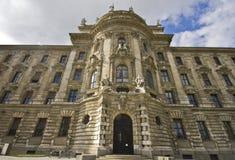 Palacio de la justicia en Munich Foto de archivo