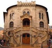 Palacio de la justicia, Mónaco Imágenes de archivo libres de regalías