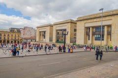 Palacio de la justicia un cultural e histórico Foto de archivo