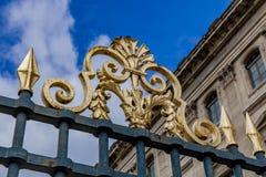 Palacio de la lumbrera en París imagen de archivo