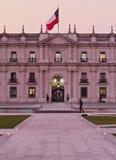 Palacio de La Moneda em Santiago de Chile Imagens de Stock Royalty Free