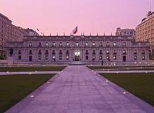 Palacio de La Moneda em Santiago de Chile Fotos de Stock Royalty Free