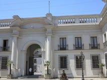 Palacio de la Moneda, Santiago, Chile Imágenes de archivo libres de regalías