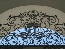 Palacio de la Moneda, Santiago, Chile Imagenes de archivo