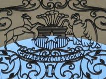 Palacio de la Moneda, Santiago, Chili Image stock
