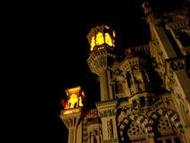 Palacio de la noche Imagen de archivo