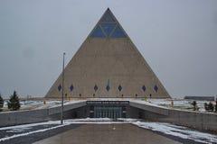 Palacio de la paz y de la reconciliación foto de archivo libre de regalías