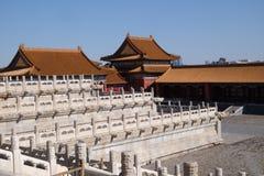Palacio de la pureza divina Qianqinggong en la ciudad de Forrbiden, Pekín imágenes de archivo libres de regalías