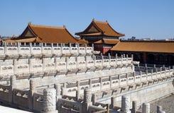 Palacio de la pureza divina Qianqinggong en la ciudad Prohibida, Pekín fotos de archivo