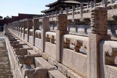 Palacio de la pureza divina Qianqinggong en la ciudad Prohibida, Pekín foto de archivo libre de regalías