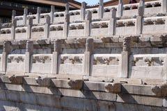Palacio de la pureza divina Qianqinggong en la ciudad Prohibida, Pekín imagenes de archivo