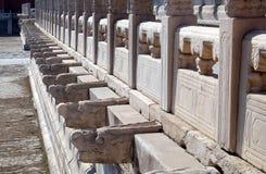 Palacio de la pureza divina Qianqinggong en la ciudad Prohibida, Pekín fotografía de archivo