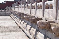 Palacio de la pureza divina Qianqinggong en la ciudad Prohibida, Pekín fotos de archivo libres de regalías