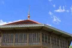 Palacio de la teca Imágenes de archivo libres de regalías