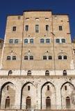 Palacio de las ancianos en Ancona Fotos de archivo