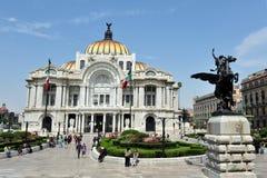 Palacio de las bellas arte - Ciudad de México Imagen de archivo libre de regalías