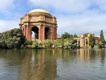 Palacio de las bellas arte San Francisco Imagenes de archivo