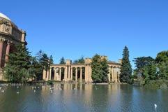Palacio de las bellas arte San Francisco California Imagenes de archivo