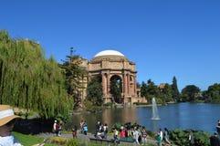 Palacio de las bellas arte San Francisco California Fotografía de archivo
