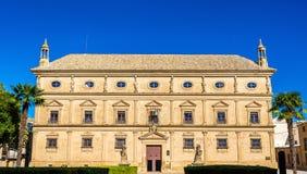 Palacio DE las Cadenas in Ubeda, Spanje royalty-vrije stock fotografie
