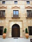 Palacio de las cuentas de Santa Ana en Lucena, provincia de Córdoba, España imagen de archivo libre de regalías