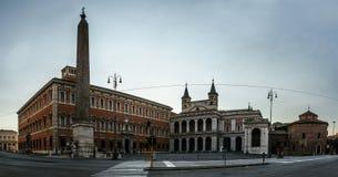 Palacio de Lateran en Roma, Italia Fotos de archivo libres de regalías