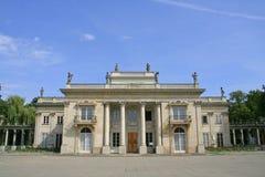 Palacio de Lazienki Fotografía de archivo