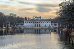 Palacio de Lazienki - Varsovia Fotografía de archivo libre de regalías