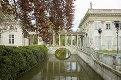 Palacio de Lazienki, Varsovia Fotos de archivo libres de regalías
