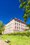 Palacio de Libochovice Fotos de archivo libres de regalías